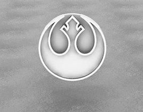 3D print model STAR WARS - Rebel Alliance Logo
