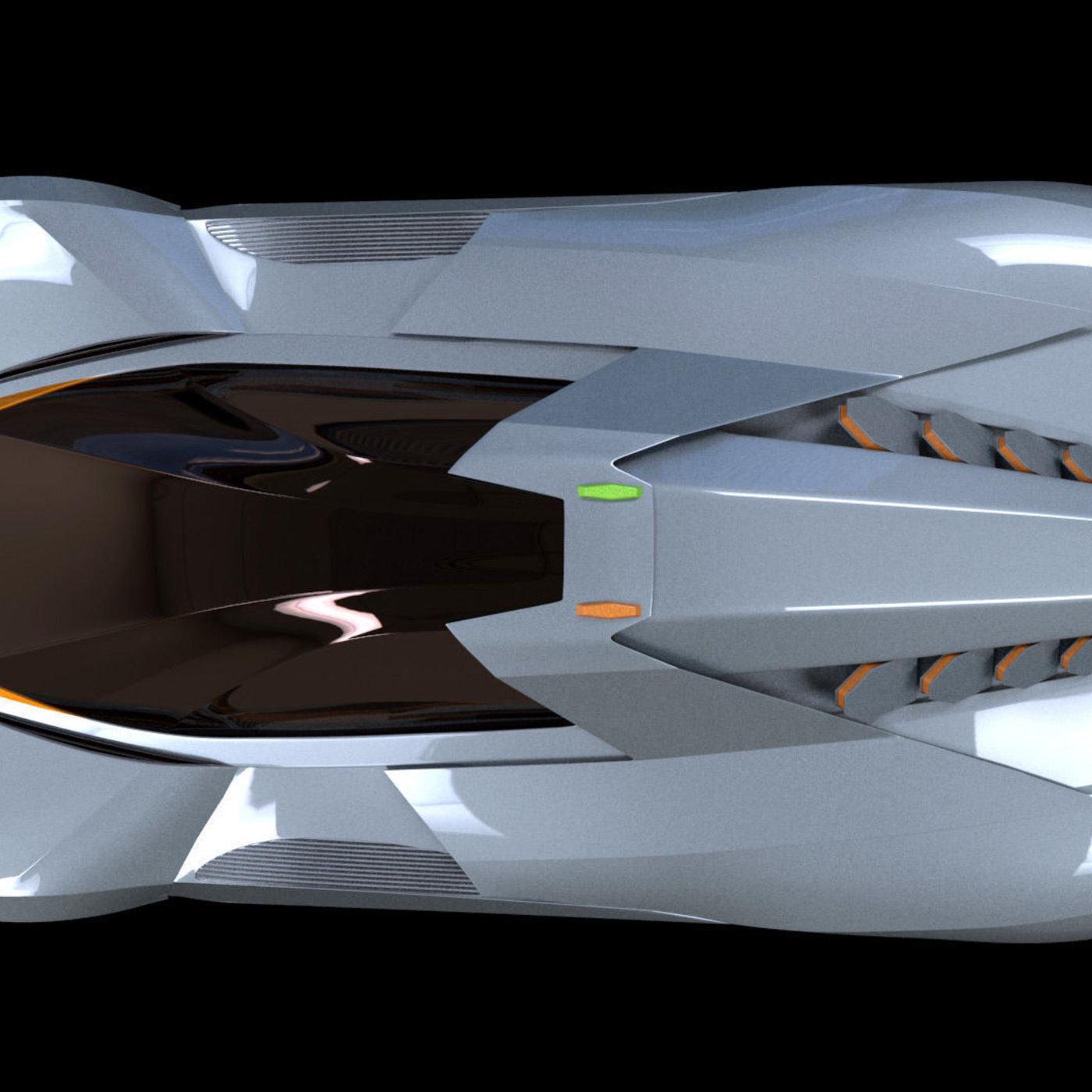 Lamborghini Egoista Inside: Lamborghini Egoista