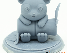 Panda Pochoo 3D print model