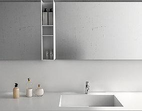3D model Bathroom furniture set Arcom Escape