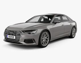 3D Audi A6 C8 sedan 2018