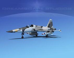 3D model Northrop F-5E Tiger V12 Navy