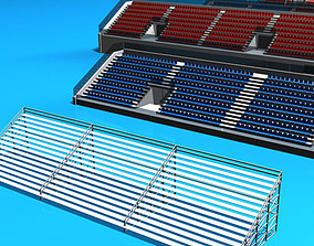3D Stadium seating areas collection2