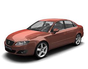 2010 Seat Exeo 3D model