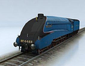 3D asset LNER Class A4 Mallard