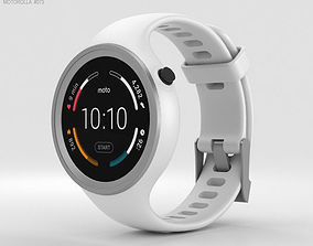 Motorola Moto 360 Sport White 3D model