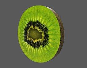 Kiwi Thin Slice 3D asset
