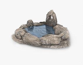 3D asset Natural spring water