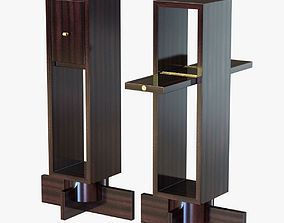 3D model andre sornay side table with two doors