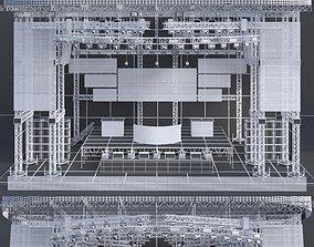 3D EDM Concert Stage 2