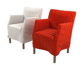 Lou alta sleepcovered armchair by marktex 3D model