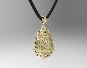 3D printable model Egg with crosses pendant