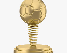 Football Award Cup 002 3D model game-ready