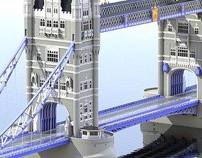 3D other Bridge London Tower