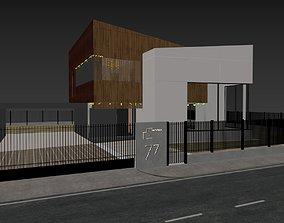 Modern house 03 3D model