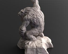 Yeti A 3D printable model