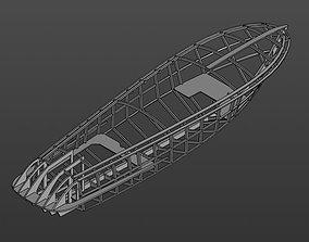 Riva Aquarama 1970 CAD 3D print model