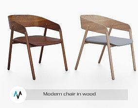 minimalist chair 3D model