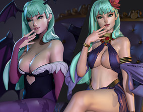 Morrigan Aensland - Version 1 and 2 3D print model