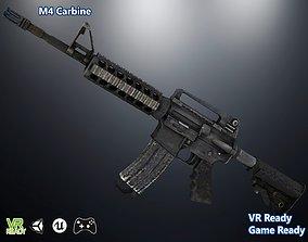 vr M4 Carbine 3D asset