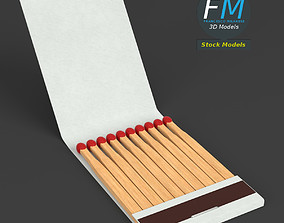 3D model Book of matches