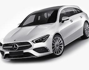 Mercedes CLA Shooting Break 2020 3D