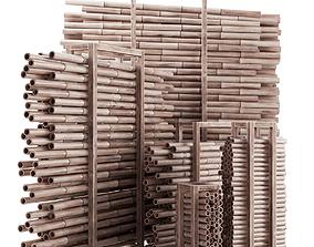 3D model Firewood bamboo