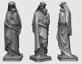 St James Virgin Mary 3D Statue Sculpture