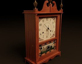Mantle Clock 3D