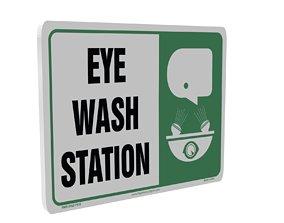 Eye Wash sticker 3D model