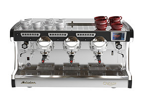 3D model Astoria Sabrina coffe machine