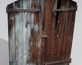 Door 7 wooden 3D model