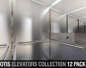 OTIS Elevators Collection - 12 Pack 3D model