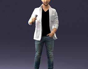 Male singer 0079 3D Print Ready