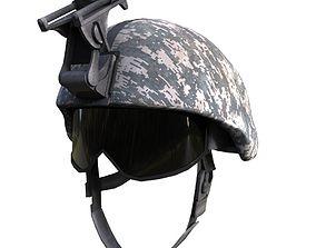 marine helmet 3D