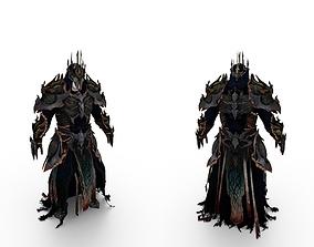 Death Kings Full Body Armor 3D model