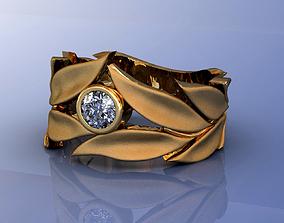 3D printable model Gold Wedding Ring Carrera Mi Princesa