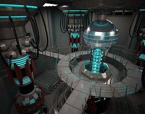 3D Scifi Base Reactor