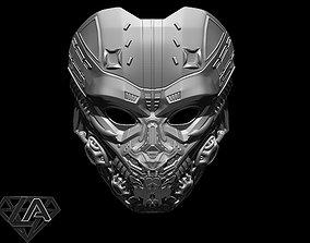 3D print model Cyber Invader SCI-FI Warrior custom mask