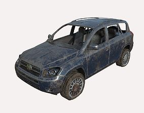 3D model Abandoned Car 07