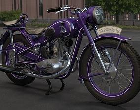 Motorcycle IZH-49 3D