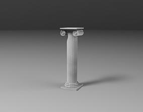 3D ancient colum column