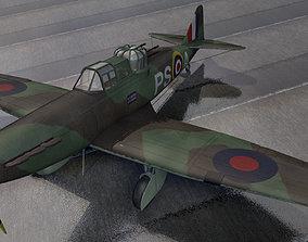 3D Boulton Paul Defiant Mk-2