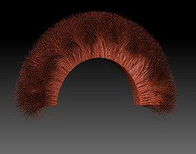 3D print model Helmet hair