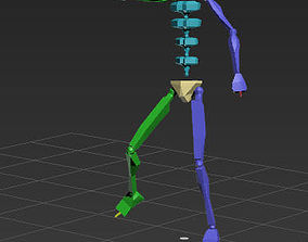 yellow red card 45-7in1 motioncapture 3D model