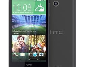 HTC Desire 510 Dark Grey 3D