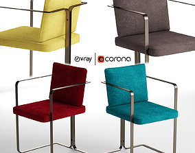 S2 MURENA ARMCHAIR by Lazzarini Pickering 3D model