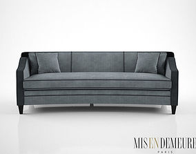 3D model Mis En Demeure Harrison curved sofa