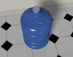 3D model Water Bottle 5 gallons
