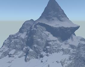 3D Snow rocks